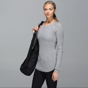 Lululemon Cabin Yogi Long Sleeve Sweater